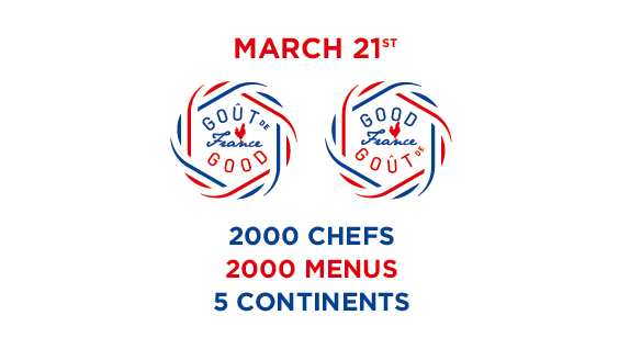 Goût de France | Good France: 2000 chefs, 2000 menus, 5 continents, March 21st - PNG