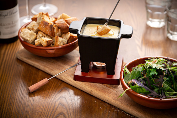 Recipe of the cheese fondue by Le Chef restaurant - JPEG