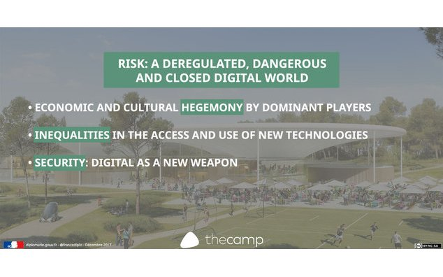 Risk : A deregulated, dangerous and closed digital world