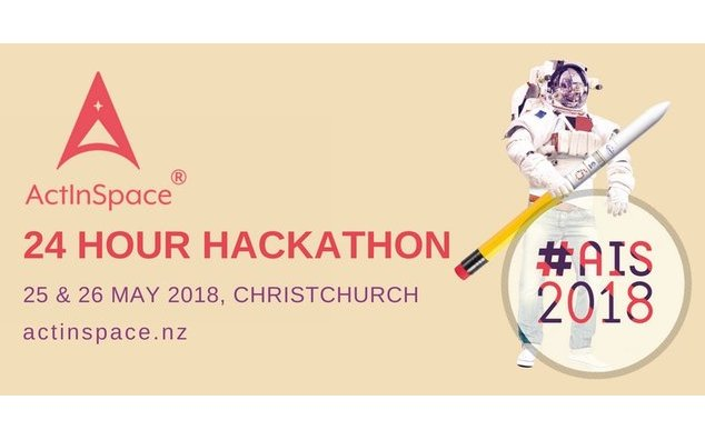 ActInSpace NZ in Christchurch on May 25-26