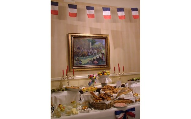 Breakfast at the French Residence