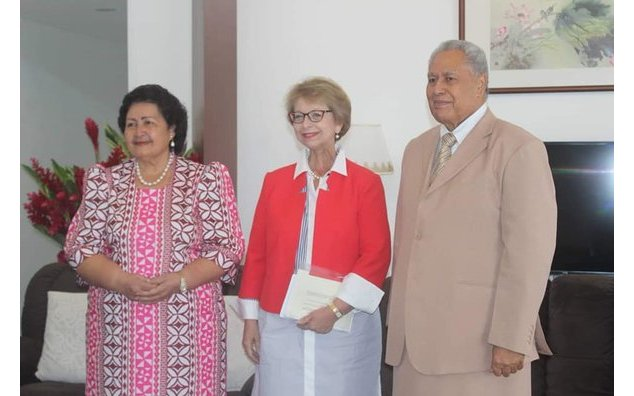 Presentation of Credentials of the Ambassador of the Republic of France to Samoa