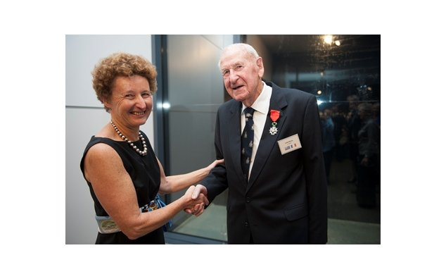 Dambusters pilot Mr Les Munro awarded French Legion of Honour