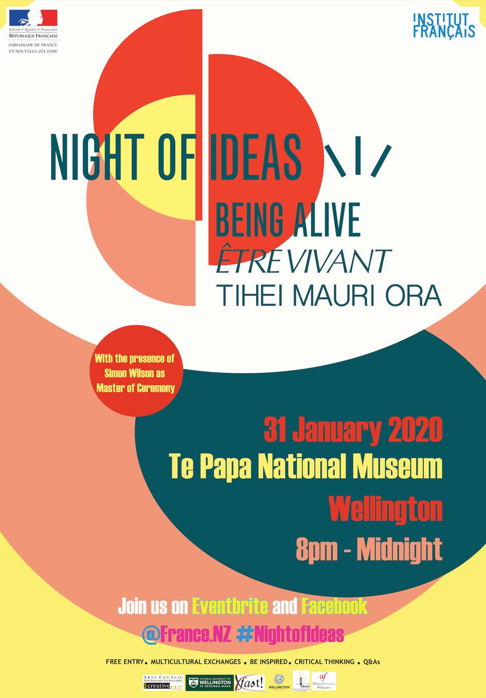 La Nuit des Idées 2020 en Nouvelle-Zélande aura lieu le 31 janvier à (...) - La France en ...