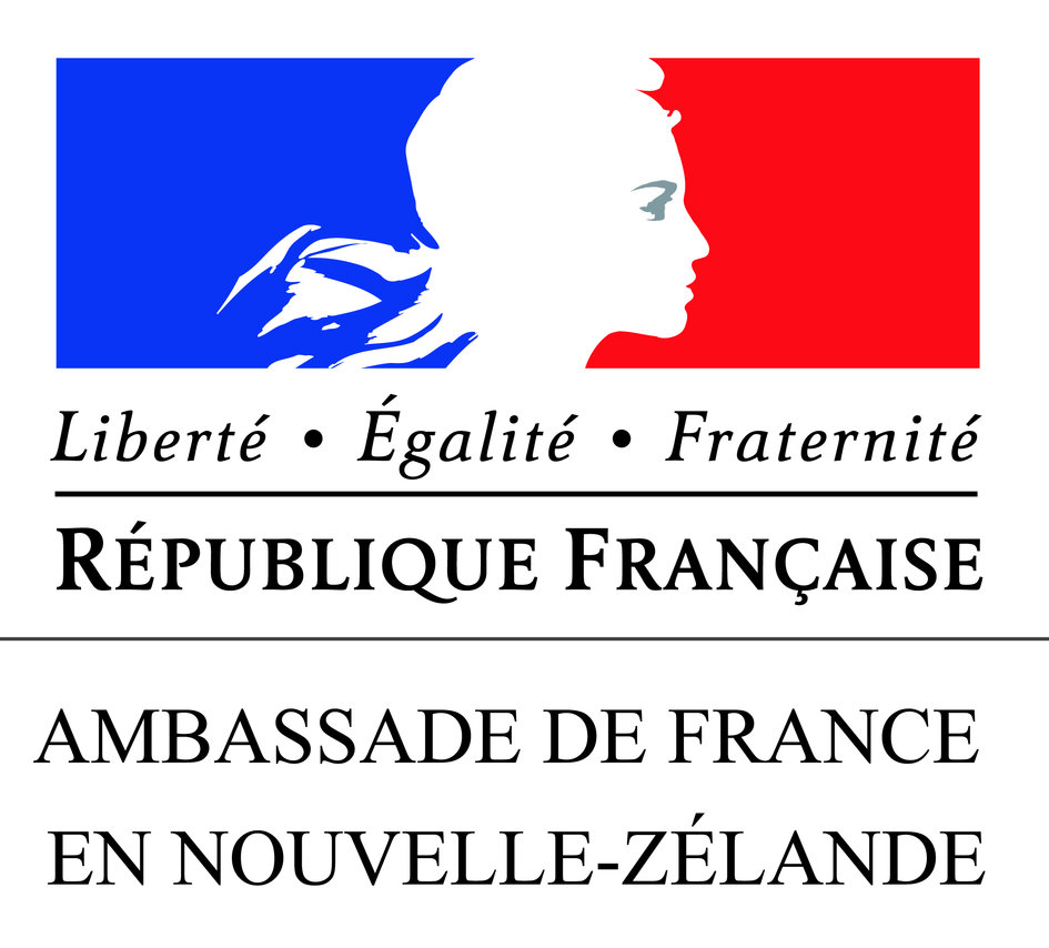 Logo of the French embassy - JPEG